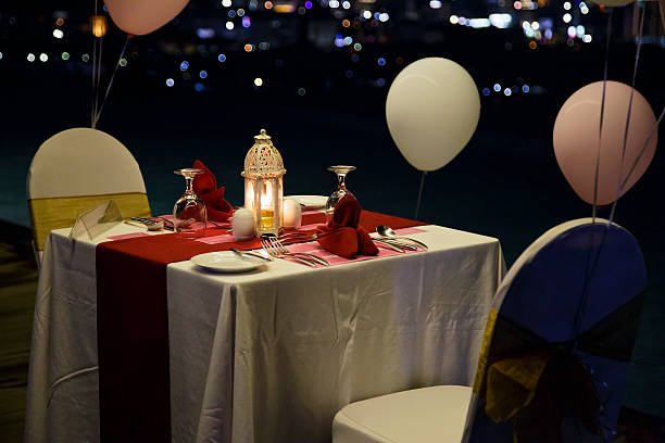 Red Balloons and Romantic Candles