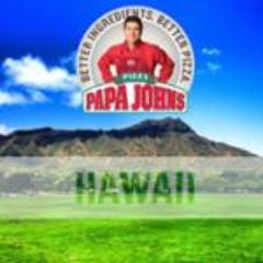 Papa John's Pizza Hawaii